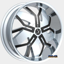 ROCK-N-STARR WHEELS - 965 FLOYD - Chrome