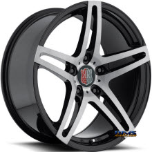 Roderick Luxury Wheels - RW5 - machined w/ black