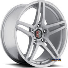 Roderick Luxury Wheels - RW5 - silver flat