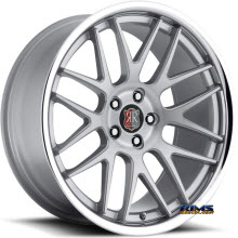 Roderick Luxury Wheels - RW6 - silver w/ chrome lip