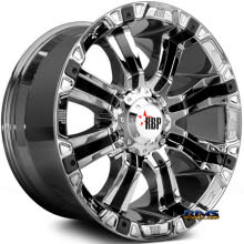 RBP Off-road - 94-R - Chrome w/ Black Cap