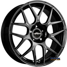 FK ETHOS WHEELS - RT-7M - black flat w/ machined