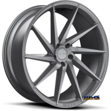 Ruff Racing - R2 - Available in 5-lug Only - Gunmetal Flat