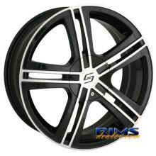 Sacchi Custom Wheels - S62 - machined w/ black