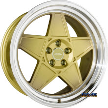 ACE ALLOY - SL-5 C917 - Gold w/ Machined