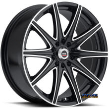 Spec 1 Wheels - SP-14 - black gloss w/ machined