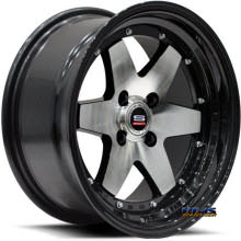 Spec 1 Track - SPT-9 - black gloss w/ machined