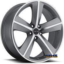 Vision Wheel - Sport Concepts 859 - gunmetal flat