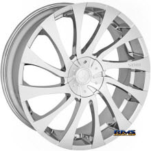 STARR ALLOY WHEEL - 718 GATSBY - chrome