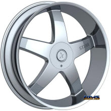 STARR ALLOY WHEEL - 223 OHIO - Chrome