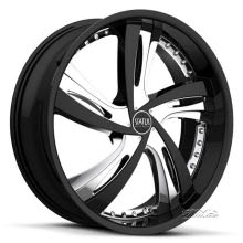Status - Fantasy S835 (5-lug only) - black chrome