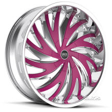 Status - Hurricane S836 - Custom Painted - chrome