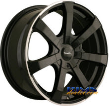 Touren Custom Wheels - TR90 - black w/ stripe