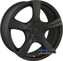 Touren Custom Wheels - TR9 - black flat