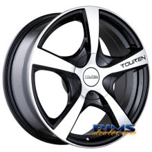Touren Custom Wheels - TR9 - machined w/ black