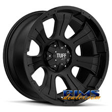 Tuff A.T Wheels - T06 - black flat
