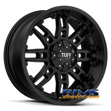 Tuff A.T Wheels - T07 - black flat