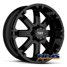 Tuff A.T Wheels - T13 - black flat