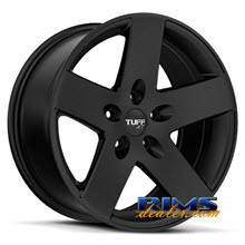 Tuff A.T Wheels - T20 - black flat