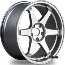 MIRO WHEELS - TYPE 398 - silver flat