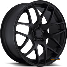 euroTEK WHEELS - UO2 - Black Flat