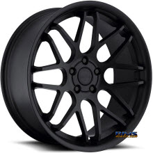 euroTEK WHEELS - UO6 - Black Flat