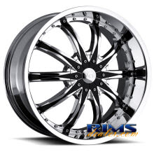 VCT Wheels - ABRUZZI - chrome