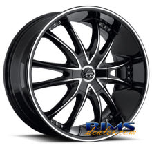 VCT Wheels - BOSSINI - machined w/ black