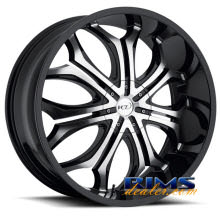 VCT Wheels - GODFATHER - machined w/ black