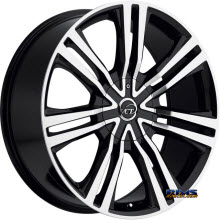 VCT Wheels - GRAVANO - Machined w/ Black