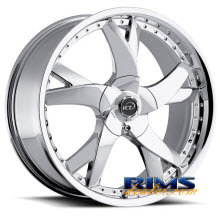 VCT Wheels - GRAZIANO - chrome