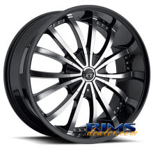 VCT Wheels - MANCINI - machined w/ black
