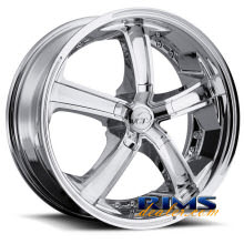 VCT Wheels - MASSINO - chrome
