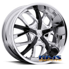 VCT Wheels - ROMANO - chrome