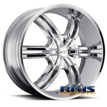 VCT Wheels - TORINO - chrome