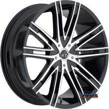 VCT Wheels - V28 - Black Flat