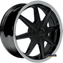 Vision Wheel - Kryptonite 378 - black flat