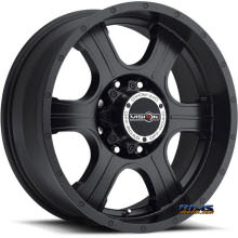 Vision Wheel - 396 Assassin - black flat