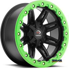 Vision Wheel - Five-Fifty One (green lip armor ) - black flat