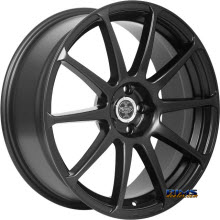 V-Racing Wheels - VE501 - Black Flat