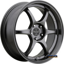 V-Racing Wheels - VE502 - Black Flat