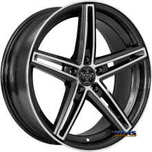 V-Racing Wheels - VE505 - Black gloss w/ Machined