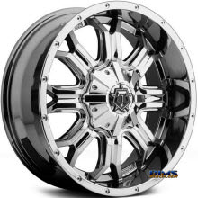 TIS Wheels - 535V - PVD Chr - chrome