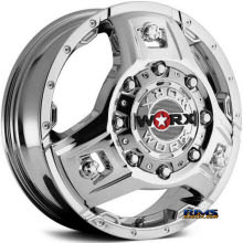 Worx Alloy Off-Road - 801C TRIAD DUALLY - Chrome