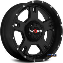 Worx Alloy Off-Road - 802SB HAVOC  - Black Flat