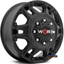Worx Alloy Off-Road - 803SB BEAST DUALLY - Black Flat