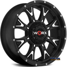 Worx Alloy Off-Road - 805SB TYRANT  - Black Flat