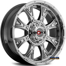 Worx Alloy Off-Road - 805V TYRANT (PVD) - Chrome