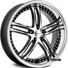 XIX Wheels - X15 - Black Gloss w/ Machined