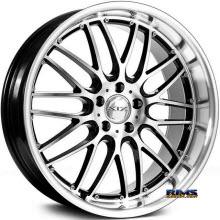 XIX Wheels - X05 - Black Gloss w/ Machined